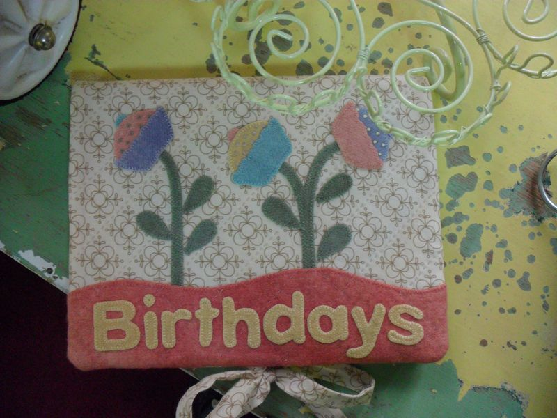 Birthday Journal for Gatheirng